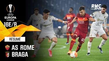 Résumé : AS Rome (Q) 3-1 Braga - Ligue Europa 16e de finale retour