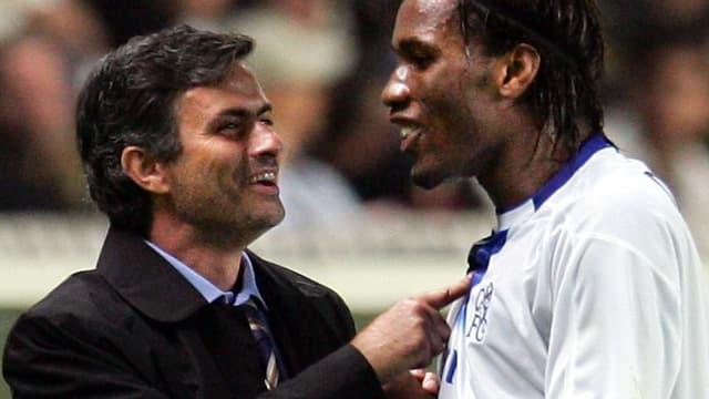 José Mourinho-Didier Drogba