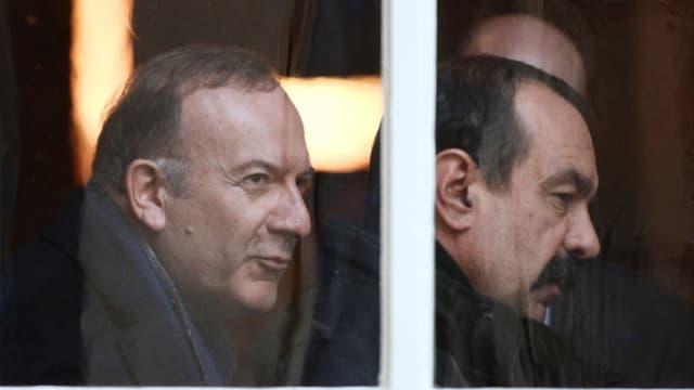 Pierre Gattaz (Medef) et Philippe Martinez (CGT) ont exprimé leur inquiétude auprès de Manuel Valls.