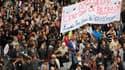 Manifestation des lycéens à Nantes mardi dernier. Plusieurs centaines de lycées restaient bloqués ou perturbés jeudi par le mouvement contre la réforme des retraites et leurs syndicats préparent les premières grandes manifestations autonomes de jeunes. /P