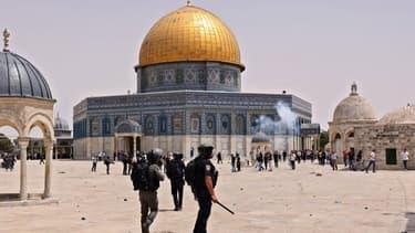 Nouveaux heurts sur l'esplanade des Mosquées à Jérusalem-Est entre police israélienne et Palestiniens