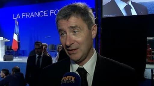 Philippe Briand, le trésorier des comptes de campagne de Nicolas Sarkozy.