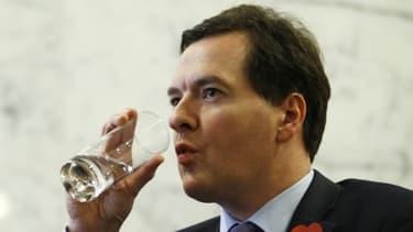 George Osborne, ministre britannique des finances