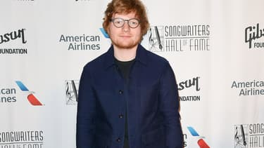 Ed Sheeran à New York le 15 juin 2017