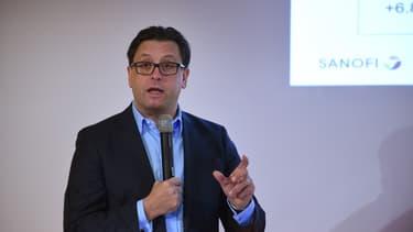Paul Hudson, directeur général de Sanofi
