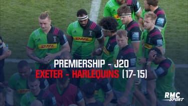 Résumé : Exeter - Harlequins (17-15) – Premiership