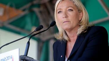 Marine Le Pen, le 30 août 2014.