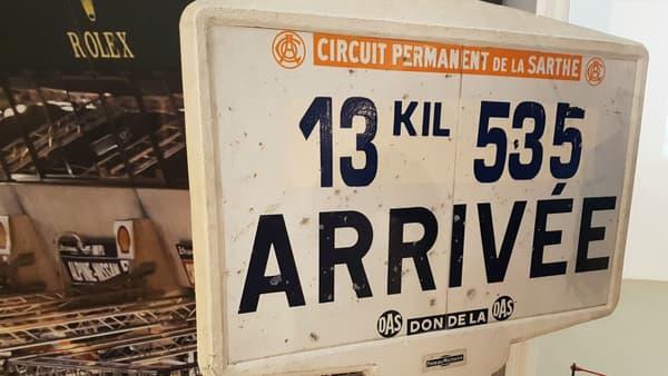 A l'arrivée, il y a toujours de nouvelles technologies au Mans.