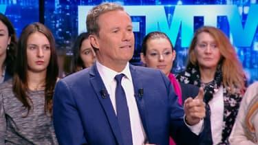 Nicolas Dupont-Aignan sur BFMTV le 11 mars 2018