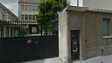Un homme s'est suicidé dans le hall de l'école La Rochefoucault, dans le VIIe arrondissement de Paris.