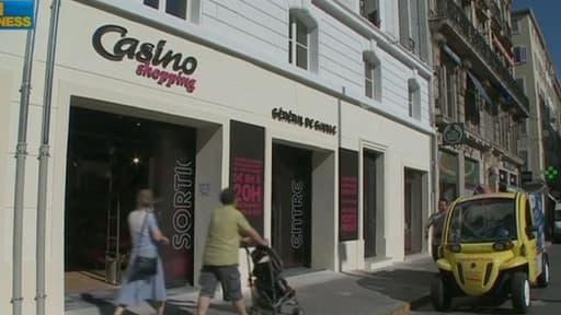 Le groupe de distribution Casino a publié de bons résultats, grâce à l'international.