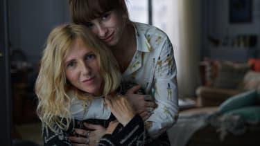 """Sandrine Kiberlain et Thaïs ALessandrin, les actrices de """"Mon bébé"""""""