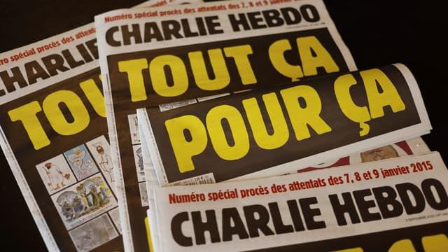 Pour l'ouverture du procès des attentats de janvier 2015, Charlie Hebdo a choisi de republier les caricatures de Mahomet qui en avaient fait la cible des jihadistes.