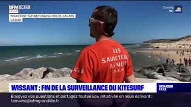 Wissant: fin de la surveillance au large pour le kitesurf