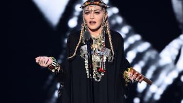 Madonna en concert en 2018