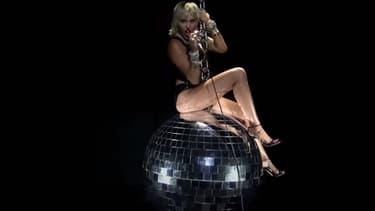 Miley Cyrus lors des MTV VMA 2020