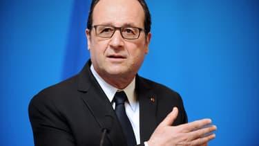 """François Hollande veut tout faire pour """"parvenir à un compromis""""."""