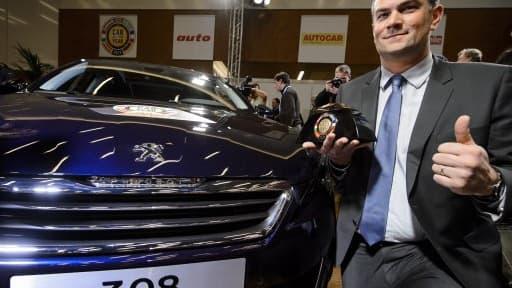 La 308 a été élue voiture de l'année 2014.