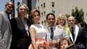 """Jennifer Lopez recevait son étoile sur """"Walk of fame"""" à Hollywood, le 20 juin."""