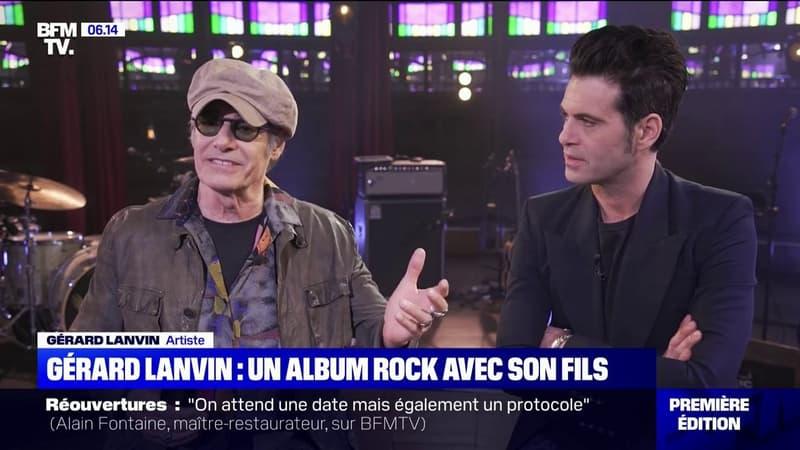 Gérard Lanvin se lance dans la chanson avec un premier album rock avec son fils