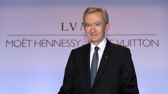Bernard Arnault, le patron et fondateur de LVMH
