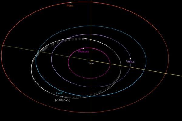L'astéroïde va passer à proximité de la Terre dans la nuit de jeudi à vendredi.