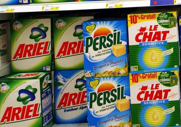 Les lessives Ariel, Persil et Le Chat sont concernées par l'entente.