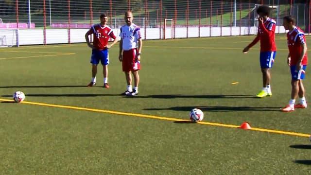 Pep Guardiola battu par ses joueurs à l'entraînement