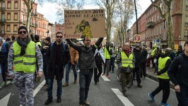 10.000 gilets jaunes ont manifesté à Toulouse