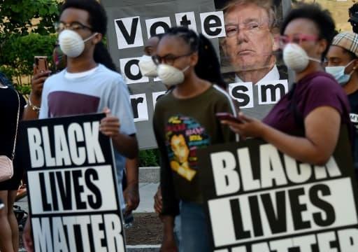 Manifestation à Washington, le 7 juin 2020