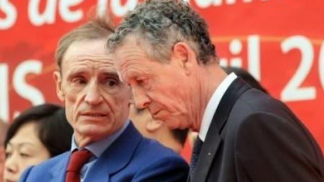 Jean-Claude Killy et Guy Drut