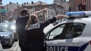Toulouse, 20 juin 2012: le quartier de la prise d'otages a été bouclé.