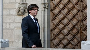 Carles Puigdemont, le 26 octobre 2017.