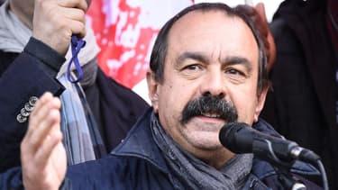 Philippe Martinez défile à Marseille ce jeudi