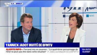 Yannick Jadot face à Ruth Elkrief - 12/09