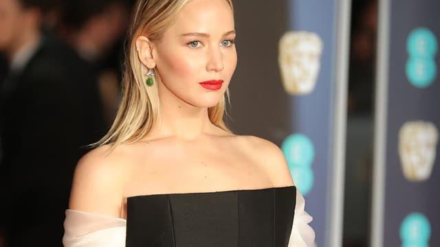 L'actrice américaine Jennifer Lawrence en février 2018.