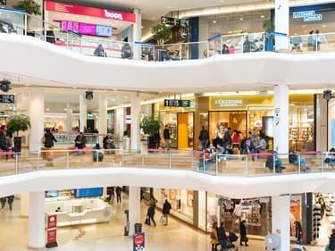 Un centre commercial à Lyon