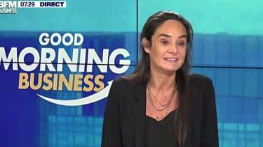 """""""Nos clients sont les premiers à avoir envie de soutenir les restaurateurs"""" explique Melvina Sarfati El Grably, directrice générale de Deliveroo en France."""