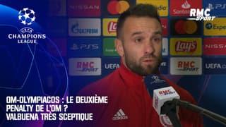OM-Olympiacos : Le deuxième penalty de l'OM ? Valbuena très sceptique