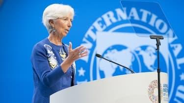 Christine Lagarde, directrice générale du Fonds monétaire international (FMI) depuis 2011.
