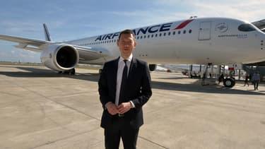 Le directeur général d'Air France, Benjamin Smith, en septembre 2019