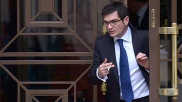 Benoist Apparu le 28 novembre 2012 à l'Assemblée nationale. Le député-maire de Châlons-en-Champagne a porté plainte après le canular divulguant son numéro de téléphone.