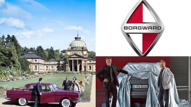 Christian Borgward (en bas à gauche) veut conquérir la Chine avec cette marque créée par son grand-père et disparu en 1961.