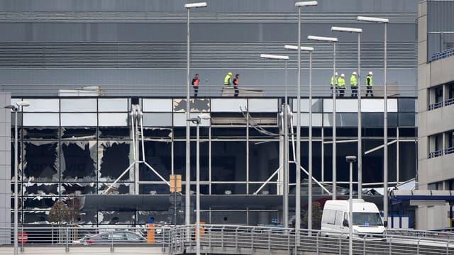 Vers une réouverture partielle de l'aéroport de Bruxelles - Mardi 29 mars 2016