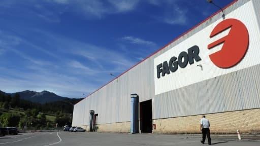 Le dépôt de bilan de l'espagnol Fagor menace 5.700 emplois dans le monde.