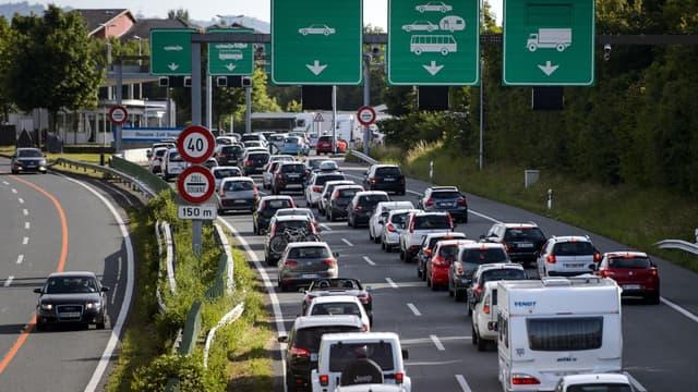 160.000 personnes traversent la frontière suisse chaque jour pour aller travailler.
