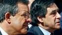 François Fillon, en visite jeudi à Marseille pour soutenir Thierry Mariani (à gauche), tête de liste UMP pour les élections régionales en Provence-Alpes-Côte d'Azur. Le Premier ministre a présenté ses excuses à la famille d'un policier grièvement blessé l