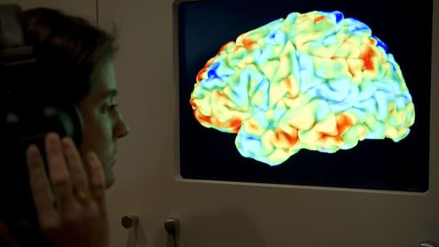 Des paralysés parviennent à contrôler parla pensée le curseur d'un ordinateur (image d'illustration)