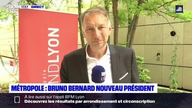 """""""Nous souhaitons faire une pause dans la construction de bureaux pour rendre le quartier plus agréable"""" :Bruno Bernard, président de la Métropole, souhaite végétaliser le quartier de la Part-Dieu et créer du logement."""