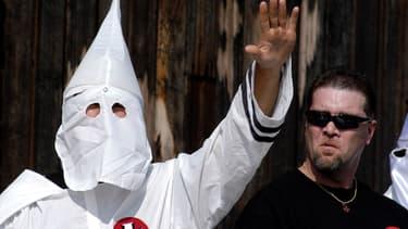Membres du Ku Klux Klan. (Photo d'illustration)